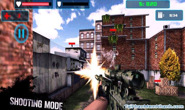 Tải cài đặt game Đột Kích Tập Kích Bắn Tỉa - Chiến Dịch Hành Động 2 cho iOS + Hình 3