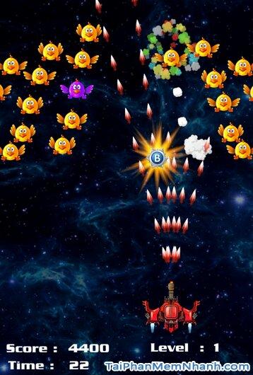 Tải Chicken Shooter - Game Bắn Gà Vũ Trụ cho điện thoại iPhone, iPad + Hình 2