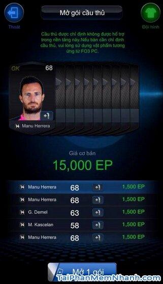 Hướng dẫn tải game FIFA Online 3 M by EA Sports™ cho iPhone, iPad + Hình 9