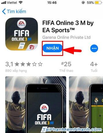 Hướng dẫn tải game FIFA Online 3 M by EA Sports™ cho iPhone, iPad + Hình 16
