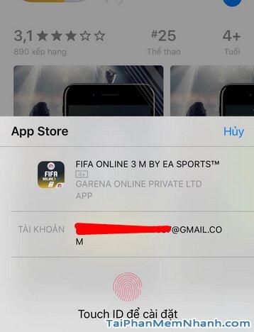 Hướng dẫn tải game FIFA Online 3 M by EA Sports™ cho iPhone, iPad + Hình 17
