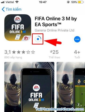 Hướng dẫn tải game FIFA Online 3 M by EA Sports™ cho iPhone, iPad + Hình 18