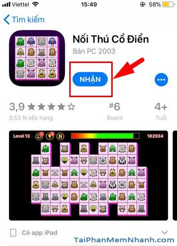 Tải và cài đặt game Nối Thú Cổ Điển cho điện thoại iPhone, iPad + Hình 11