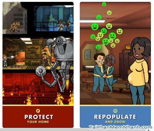 Tải cài đặt game Fallout Shelter cho điện thoại iPhone, iPad + Hình 6