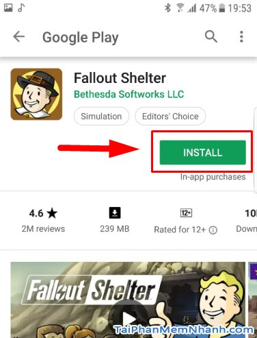 Tải cài đặt game Fallout Shelter cho điện thoại Android + Hình 10