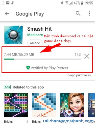 Tải cài đặt Smash Hit - Game bắn bóng hay cho điện thoại Android + Hình 9