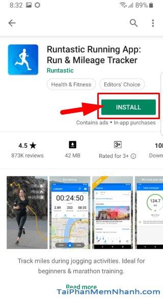 Tải và Cài đặt Runtastic - Ứng dụng theo dõi sức khỏe cho Android + Hình 10