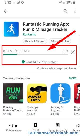 Tải và Cài đặt Runtastic - Ứng dụng theo dõi sức khỏe cho Android + Hình 11