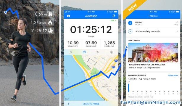 Tải Runtastic - Ứng dụng quản lý sức khỏe, thể dục trên iOS + Hình 4