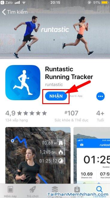 Tải Runtastic - Ứng dụng quản lý sức khỏe, thể dục trên iOS + Hình 9