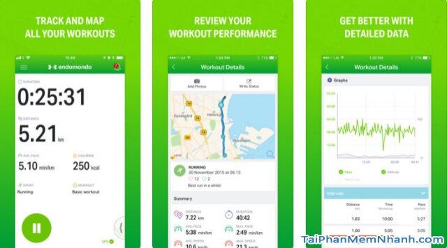 Tải Endomondo - Phần mềm theo dõi sức khỏe cho iPhone, iPad + Hình 2