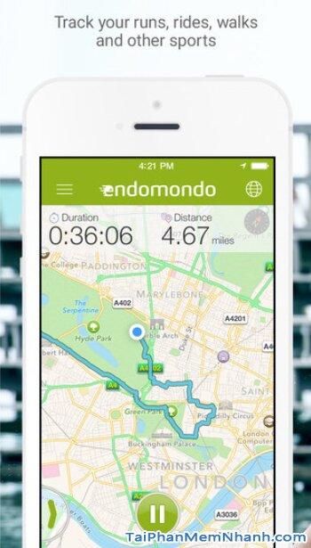 Tải Endomondo - Phần mềm theo dõi sức khỏe cho iPhone, iPad + Hình 6