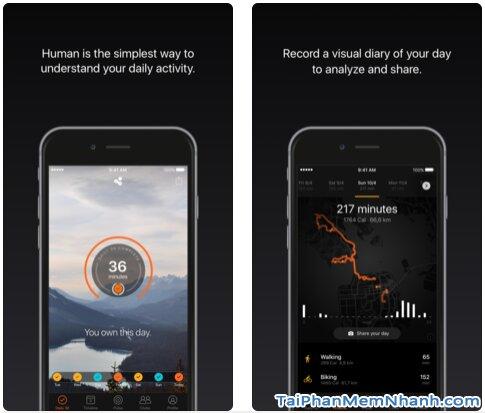 Tải Human Activity Tracker - App cải thiện sức khỏe người dùng trên iOS + Hình 3