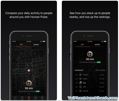 Tải Human Activity Tracker - App cải thiện sức khỏe người dùng trên iOS + Hình 5