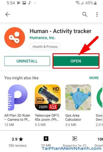 Tải Human Activity Tracker - Theo dõi hoạt động thể thao trên Android + Hình 12
