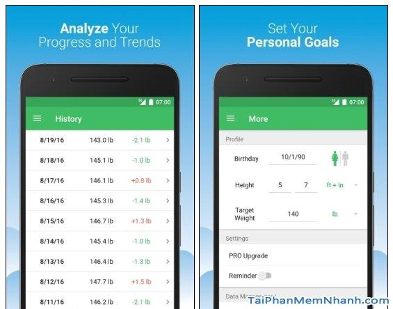 Tải BMI Calculator - Chỉ số BMI giảm cân hiệu quả trên Android + Hình 5