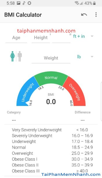 Tải BMI Calculator - Chỉ số BMI giảm cân hiệu quả trên Android + Hình 7