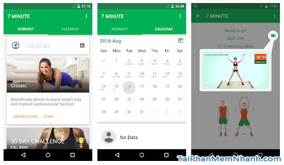 Tải Seven - 7 Minute Workout: Tập thể thao 7 phút trên Android + Hình 6