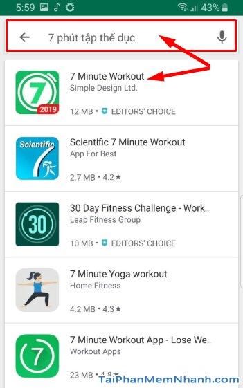 Tải Seven - 7 Minute Workout: Tập thể thao 7 phút trên Android + Hình 12