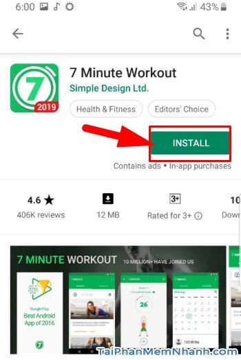 Tải Seven - 7 Minute Workout: Tập thể thao 7 phút trên Android + Hình 13