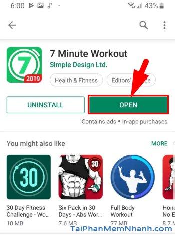 Tải Seven - 7 Minute Workout: Tập thể thao 7 phút trên Android + Hình 15