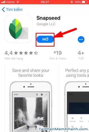 Tải cài đặt ứng dụng Snapseed cho iPhone, iPad + Hình 15