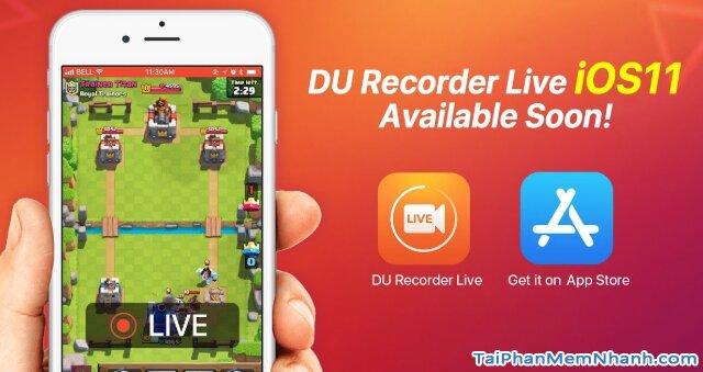 Tải DU Recorder - Trình Ghi & Live Stream màn hình trên iPhone, iPad + Hình 3