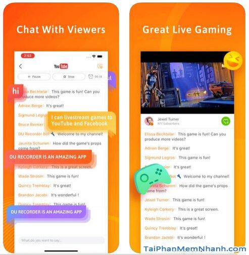 Tải DU Recorder - Trình Ghi & Live Stream màn hình trên iPhone, iPad + Hình 7