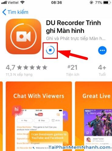 Tải DU Recorder - Trình Ghi & Live Stream màn hình trên iPhone, iPad + Hình 14