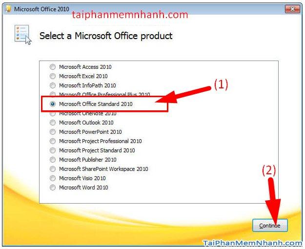 Cài hai bản Office 2003 và Office 2010 trên cùng 1 hệ điều hành + Hình 5