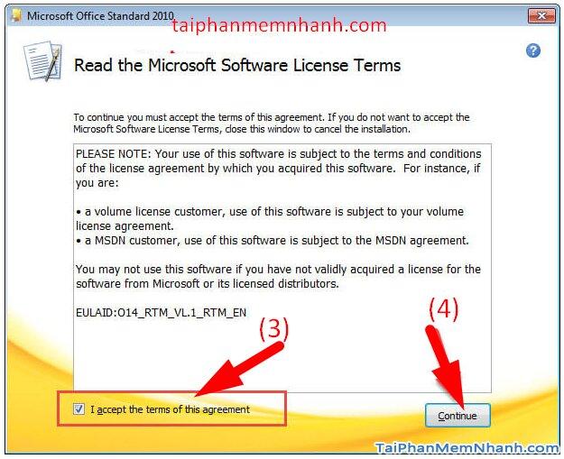 Cài hai bản Office 2003 và Office 2010 trên cùng 1 hệ điều hành + Hình 6