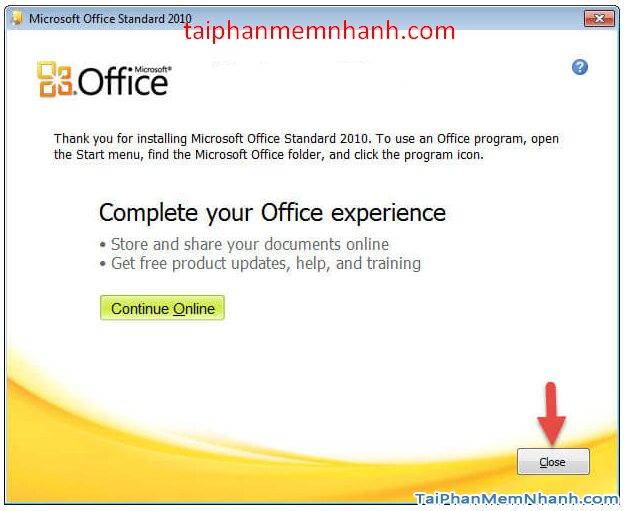 Cài hai bản Office 2003 và Office 2010 trên cùng 1 hệ điều hành + Hình 9