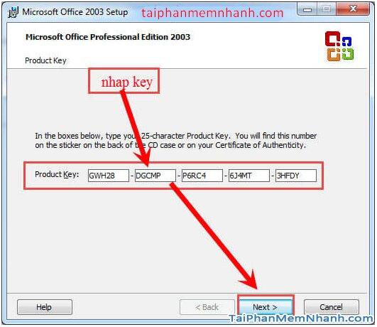 Cài hai bản Office 2003 và Office 2010 trên cùng 1 hệ điều hành + Hình 10