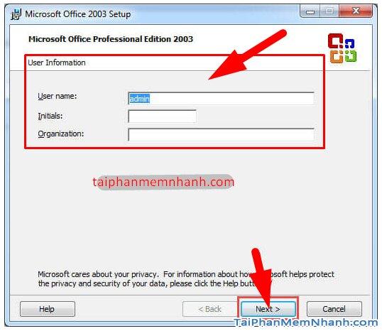 Cài hai bản Office 2003 và Office 2010 trên cùng 1 hệ điều hành + Hình 11