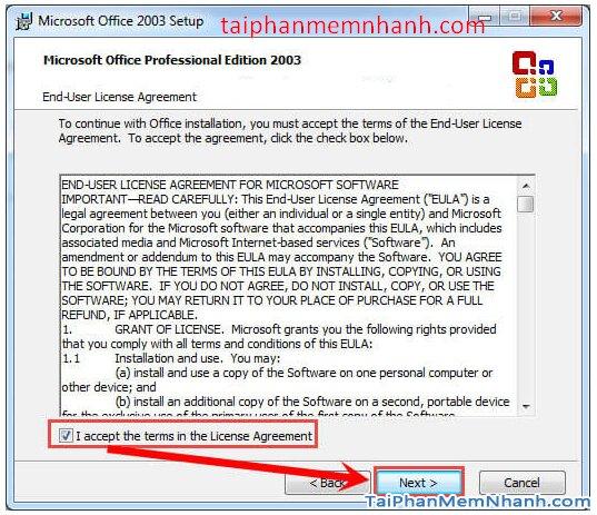 Cài hai bản Office 2003 và Office 2010 trên cùng 1 hệ điều hành + Hình 12