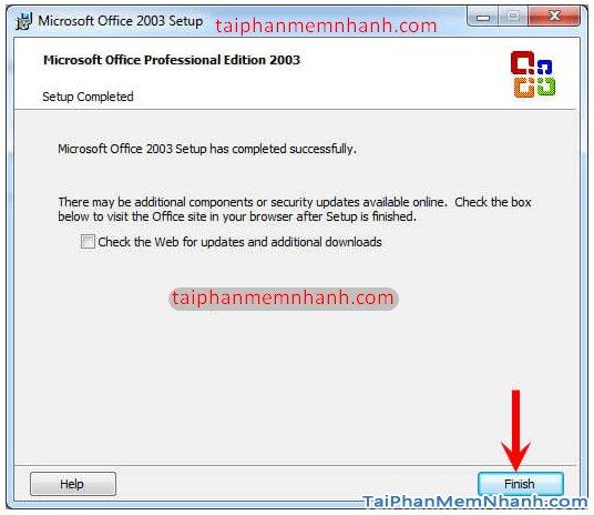Cài hai bản Office 2003 và Office 2010 trên cùng 1 hệ điều hành + Hình 16