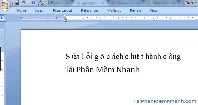 Hướng dẫn sửa lỗi mất chữ khi nhập nội dung trong Word + Hình 3