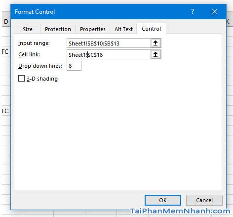 Hướng dẫn sử dụng hàm Index tạo biểu đồ tương tác trong Excel + Hình 18