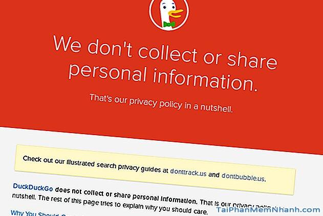 Tại sao nên sử dụng DuckDuckGo thay vì Google? + Hình 2
