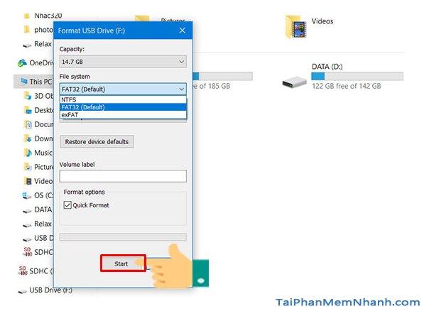 Hướng dẫn tạo USB Boot để cài đặt hệ điều hành Windows 10 + Hình 6
