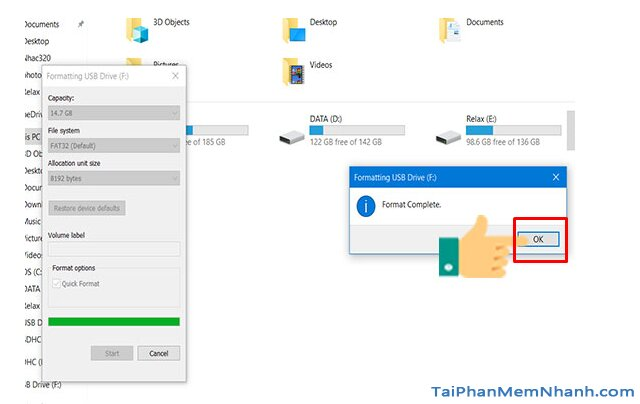 Hướng dẫn tạo USB Boot để cài đặt hệ điều hành Windows 10 + Hình 7