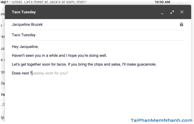 Cách sử dụng Smart Compose - Soạn thông minh mới của Gmail + Hình 8