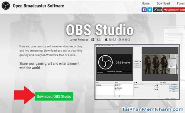 Download OBS Studio - Phần mềm quay video màn hình & phát live stream + Hình 4