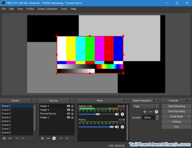 Download OBS Studio - Phần mềm quay video màn hình & phát live stream + Hình 6
