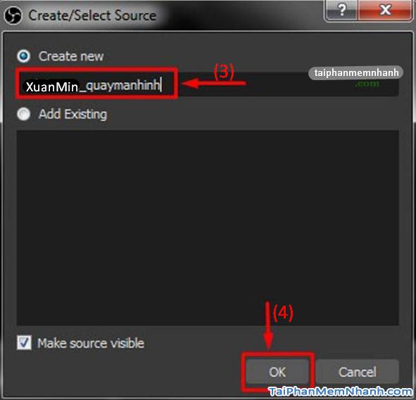 Hướng dẫn cài đặt và Quay màn hình máy tính với OBS Studio + Hình 17