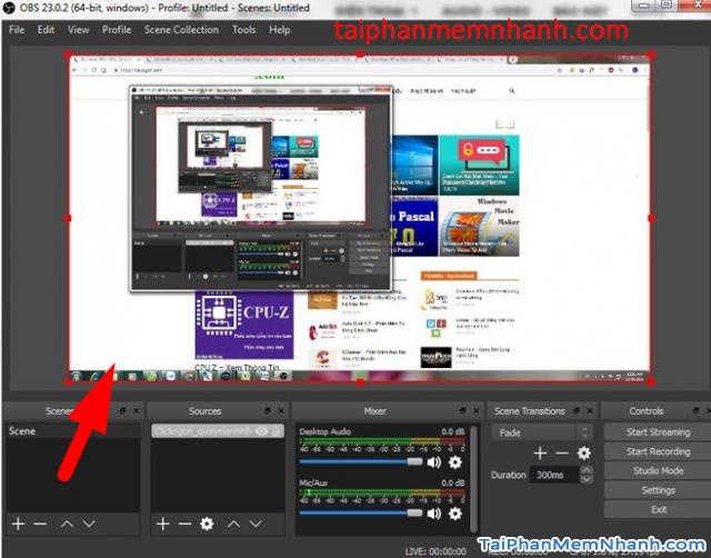 Hướng dẫn cài đặt và Quay màn hình máy tính với OBS Studio + Hình 19