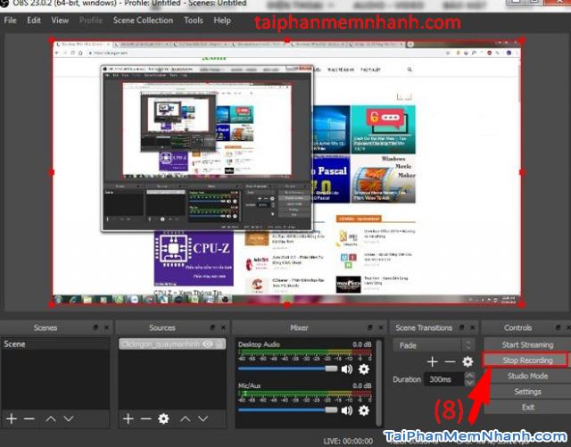 Hướng dẫn cài đặt và Quay màn hình máy tính với OBS Studio + Hình 21