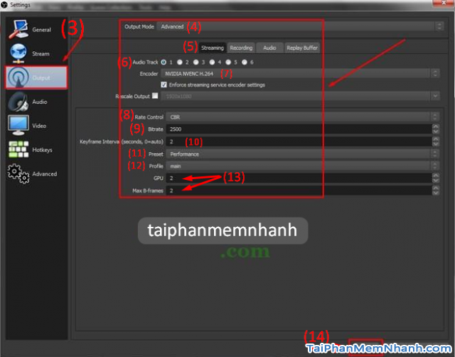 Hướng dẫn sử dụng OBS Studio stream siêu mượt, không bị lag + HÌnh 9