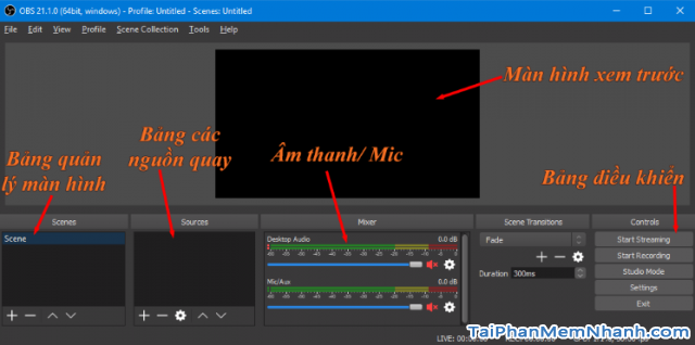 Cách sử dụng phần mềm OBS Studio để quay màn hình máy tính + Hình 7