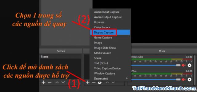 Cách sử dụng phần mềm OBS Studio để quay màn hình máy tính + Hình 8